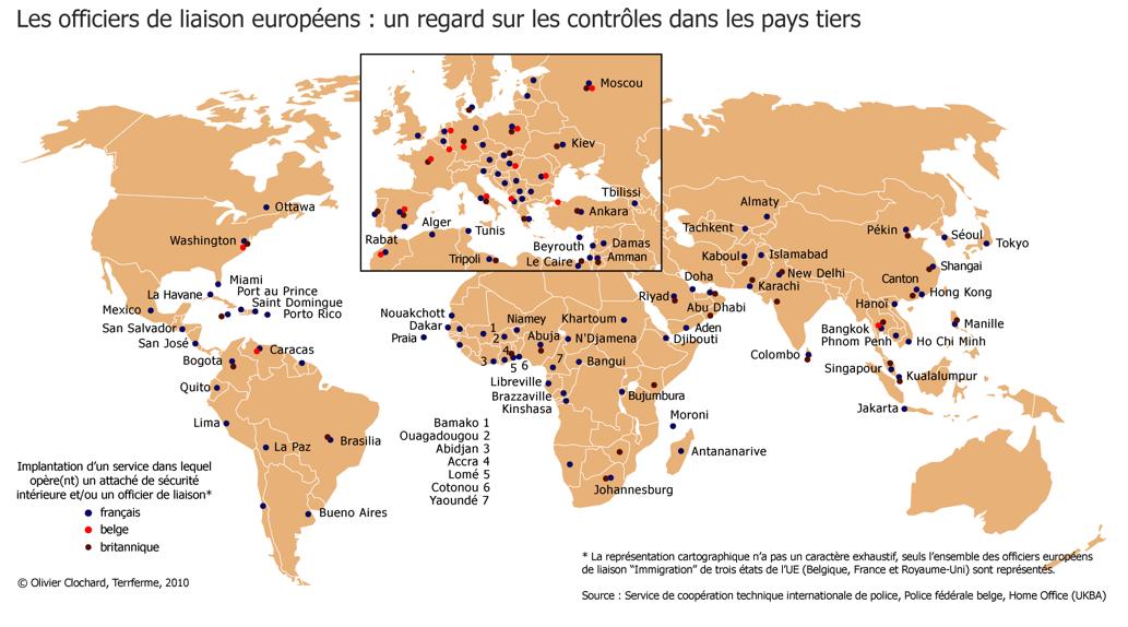 Carte du monde avec les ports popkensburg - Plus grands ports du monde ...